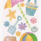Beach Items Stickers