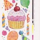 Maxi Cupcake Stickers