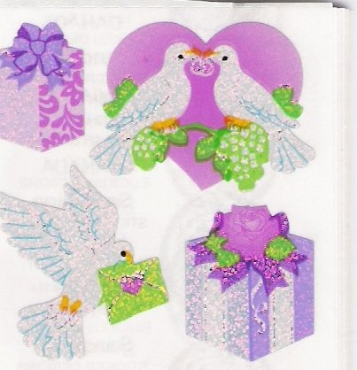 Wedding Doves and Presents