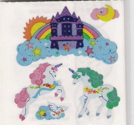 Unicorns with Rainbows