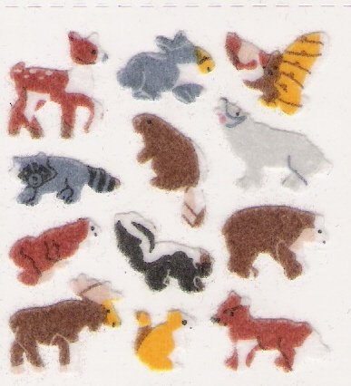 Mini Fuzzy Animals