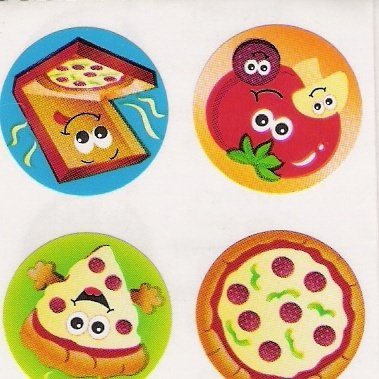 Scratch and Sniff Pizza