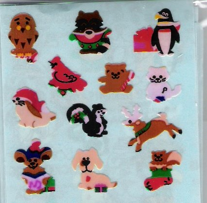 Mini Christmas animals