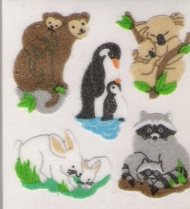Fuzzy Jungle Animals
