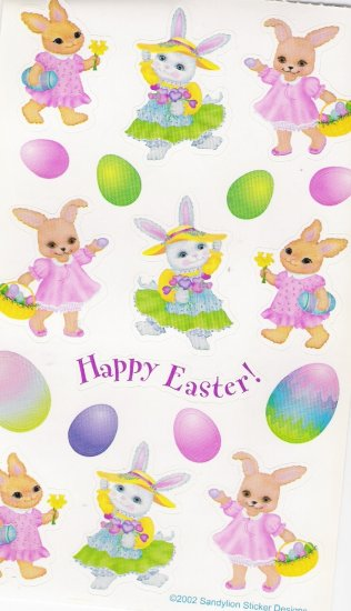 Maxi Easter Bunny and Eggs