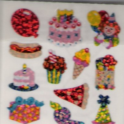 Mini Glittery Birthday Treats