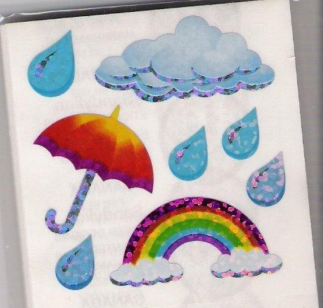 Rainbow with Umbrella