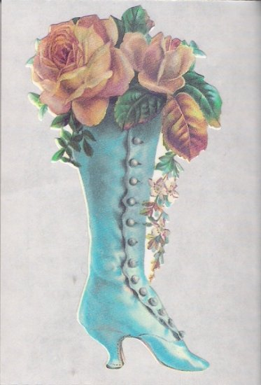 Shoe with Yellow Rose