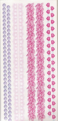 Pink and Purple Border