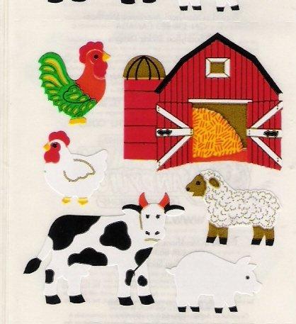 Farm with a Barn