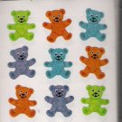 Colourful Bears