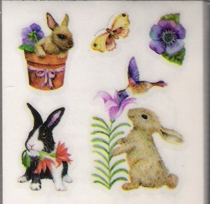 Bunnies and Flowers