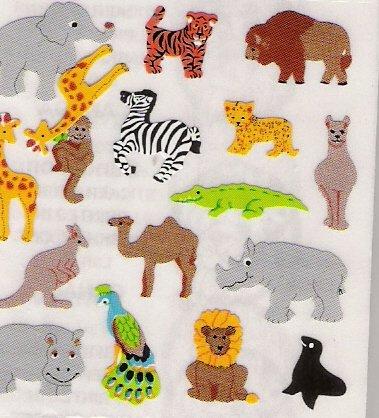 Mini Jungle Animals