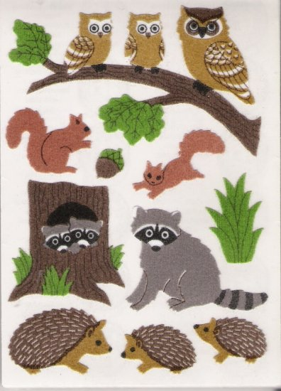 Owl and Hedgehogs