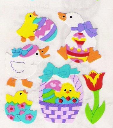 Ducks in an Easter Basket