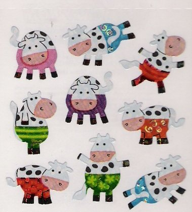 Mini Cows with Pants