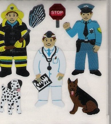 City Workers with Dogs