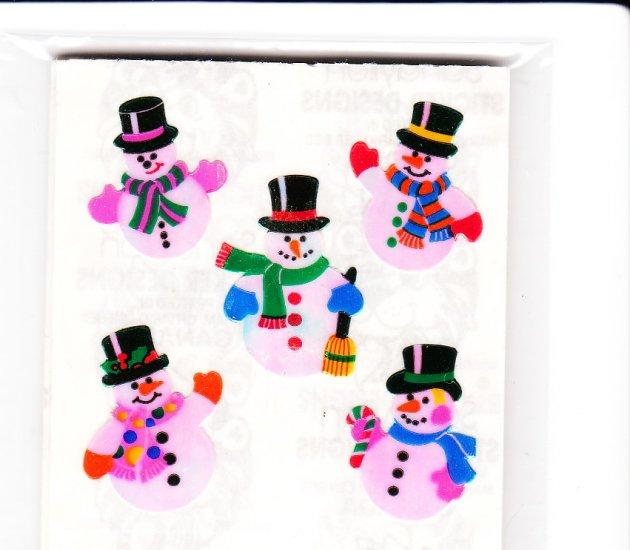 5 Pearly Snowmen