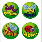 Super, Wow, Cool...Round Stickers
