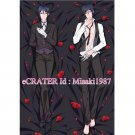 Black Butler Kuroshitsuji Dakimakura Sebastian Michaelis Anime Hugging Body Pillow Case Cover
