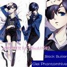 Black Butler Kuroshitsuji Dakimakura Ciel Phantomhive Anime Hugging Body Pillow Case Cover