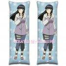 Naruto Dakimakura Hinata Hyuga Anime Hugging Body Pillow Case Cover