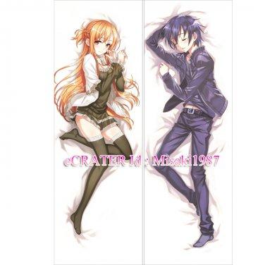 Dakimakura Pillow Body Cover Yuuki Asuna SAO Anime Hugging Sword Art Online Gift