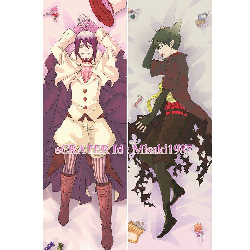 Ao no Exorcist Dakimakura Rin Okumura Pheles Anime Hugging Body Pillow Case Cover