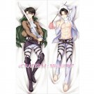 Attack On Titan Dakimakura Levi Anime Hugging Body Pillow Case Cover 05