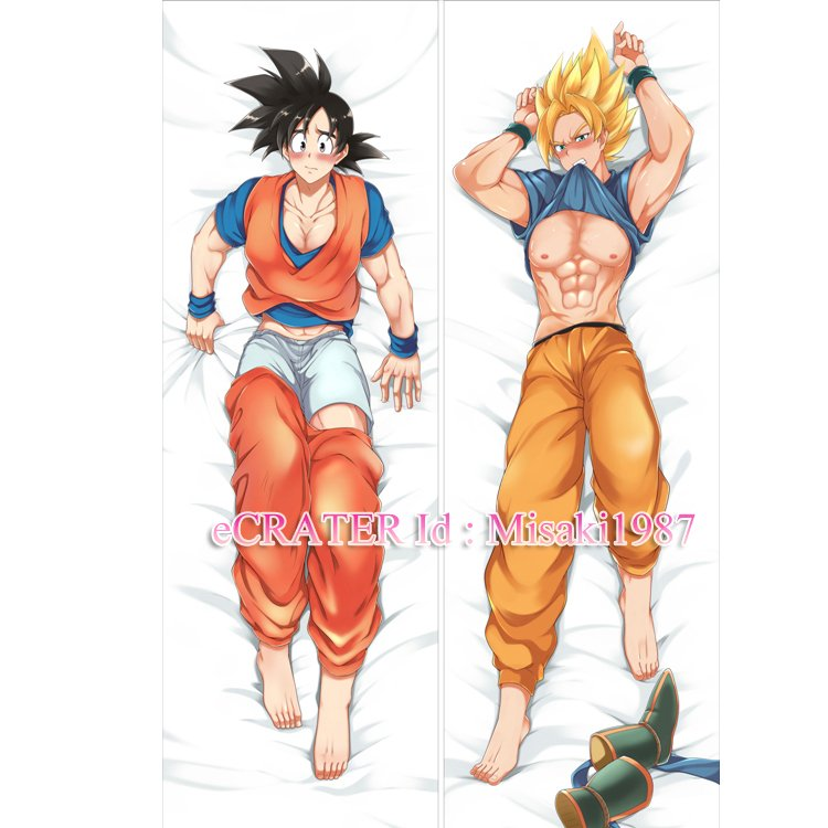 Dragon Ball Dakimakura Son Goku Kakarrot Anime Hugging Body Pillow Case Cover 02