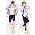 Free Dakimakura Haruka Nanase Makoto Tachibana Anime Hugging Body Pillow Case Cover 04
