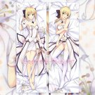 Fate Stay Night Fate Zero Dakimakura Saber Anime Hugging Body Pillow Case Cover 02