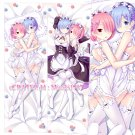 Re:Zero Dakimakura Rem Ram Anime Hugging Body Pillow Case Cover