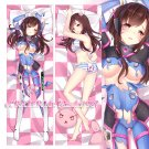 Overwatch Dakimakura D.Va Anime Girl Hugging Body Pillow Case Cover