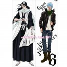 Bleach Dakimakura Byakuya Kuchiki Grimmjow Jaegerjaquez Anime Hugging Body Pillow Case Cover