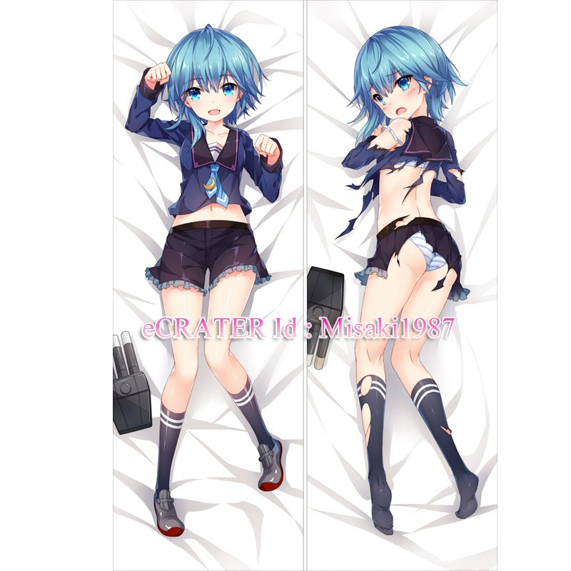 Kantai Collection KanColle Dakimakura Minazuki Anime Hugging Body Pillow Case Cover