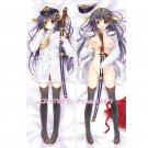 Kantai Collection KanColle Dakimakura Haruna Anime Girl Hugging Body Pillow Case Cover