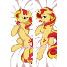 My Little Pony Dakimakura Sunset Shimmer Anime Hugging Body Pillow Case Cover