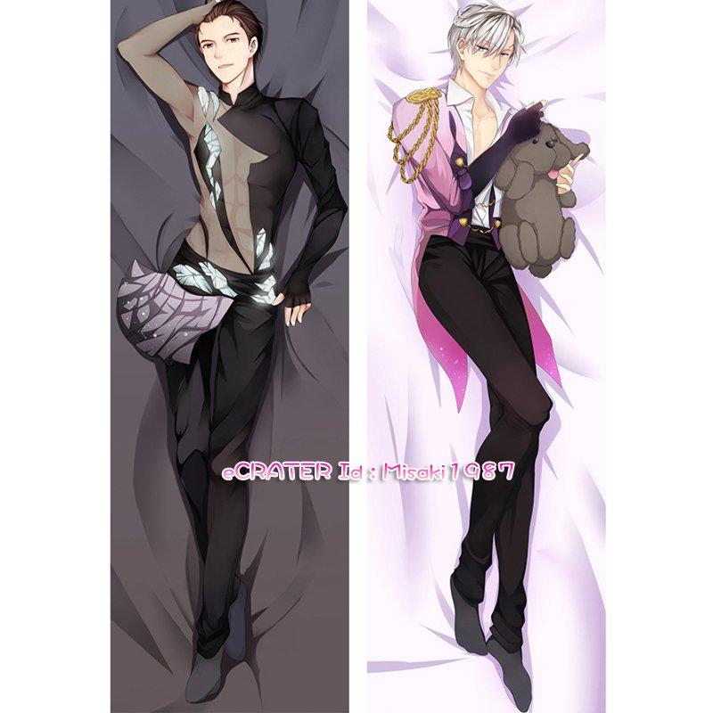 Yuri on Ice Dakimakura Viktor Nikiforov Anime Hugging Body Pillow Case Cover 03