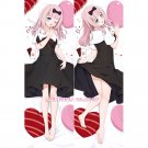 Kaguya-sama: Love Is War Dakimakura Fujiwara Chika Anime Girl Hugging Body Pillow Case Cover