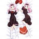 Kaguya-sama Fujiwara Chika Anime Girl Dakimakura Hugging Body Pillow Case Cover