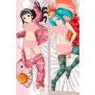 Owarimonogatari Bakemonogatari Dakimakura Anime Hugging Body Pillow Case Cover
