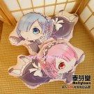Re:Zero Dakimakura Rem Ram Anime Hugging Pillow Cushion Expression Plush Doll