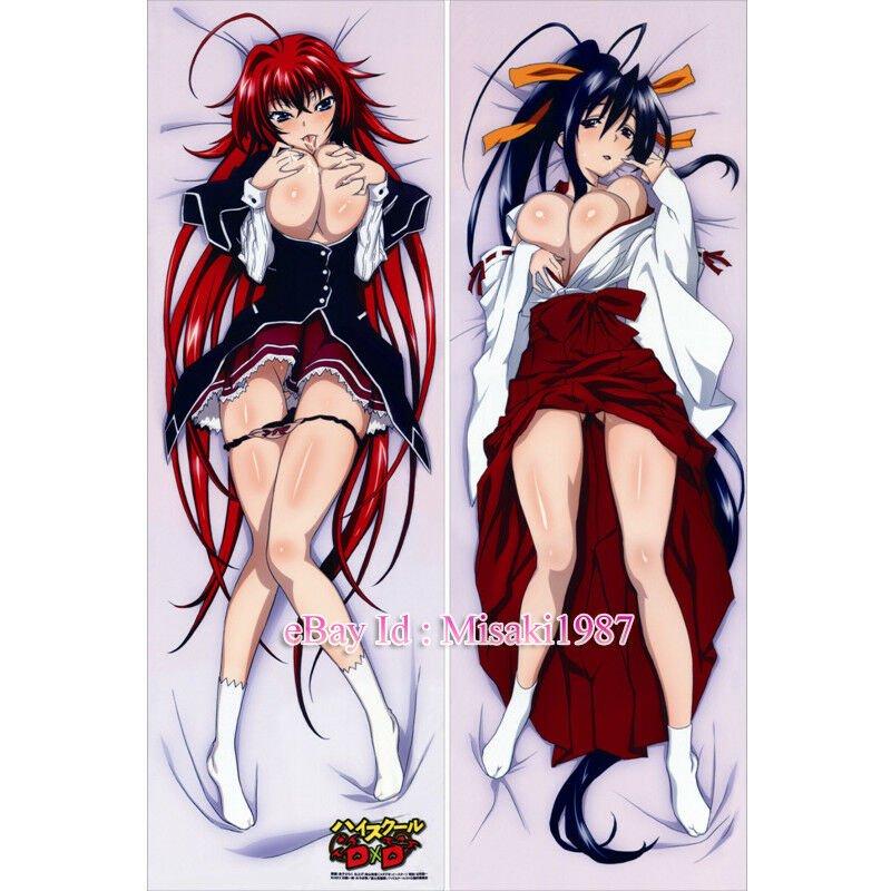 High School DXD Akeno Himejima Rias Gremory Anime Dakimakura Body Pillow Case