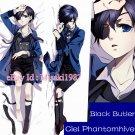 Black Butler Kuroshitsuji Dakimakura Ciel Anime Hugging Body Pillow Case Cover