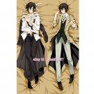 Bungo Stray Dogs Dakimakura Osamu Dazai Anime Boy Hugging Body Pillow Case Cover