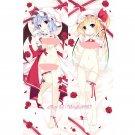 Touhou Project Flandre Remilia Anime Dakimakura Hugging Body Pillow Case Cover