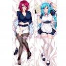 Mesu Kyoushi Dakimakura Yoshioka Maki Saya Takamine Anime Body Pillow Case Cover