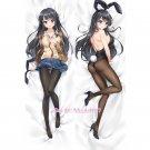 Seishun Buta Yarou Dakimakura Mai Sakurajima Anime Girl Hugging Body Pillow Case