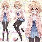 Beyond The Boundary Dakimakura Mirai Kuriyama Anime Hugging Body Pillow Case